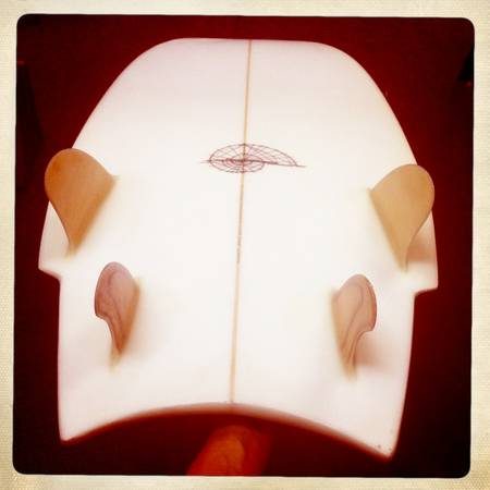 5'6 Hydrodynamica Mini Simmons Quad Fin