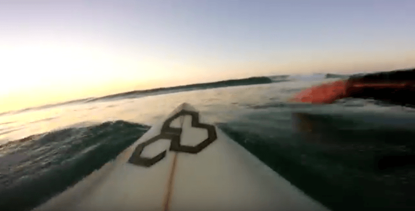Surf POV in Furnas-Galicia
