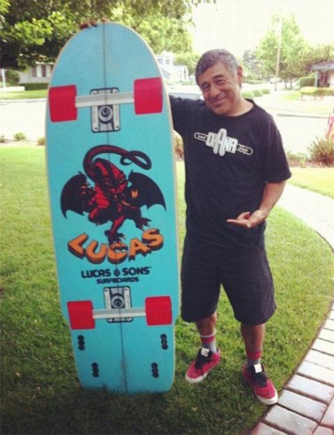 Mini Simmons Skate-Surf Design