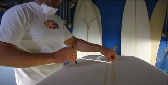 Video: Ola Surfboards Shapes A Mini (10 mins)