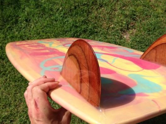 For Sale: 5'2 Mini Simmons Rainbow ($850)